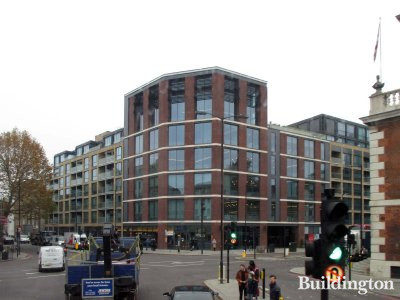 Brandon House on the corner of Marshalsea Road and Borough High Street