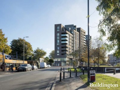 CGI of 313-349 Ilderton Road development designed by Alan Camp Architects.