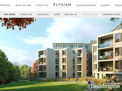 The Oren on Elysian Residences website at elysianresidences.com