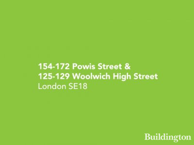 154-172 Powis Street and 125-129 Woolwich High Street development in London SE18.