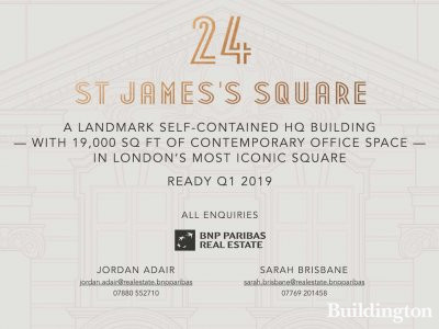 24 St James's Square development website at 24sjsquare.com