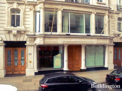 Offices to let at 50 Pall Mall marketed by Cushman & Wakefield.