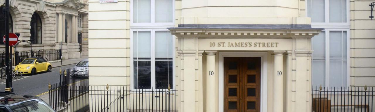 10 St James's Street