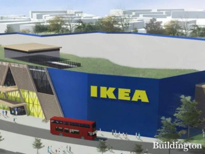 IKEA Greenwich London UK.