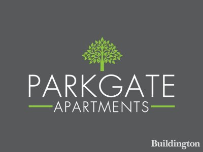 Parkgate Apartments development logo.