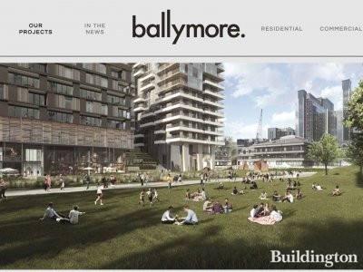 Millharbour development on Ballymore website ballymoregroup.com