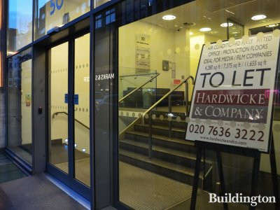 50 Great Marlborough Street offices to let by Hardwicke & Company.