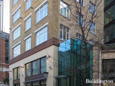 11 Slingsby Place building in London WC2.