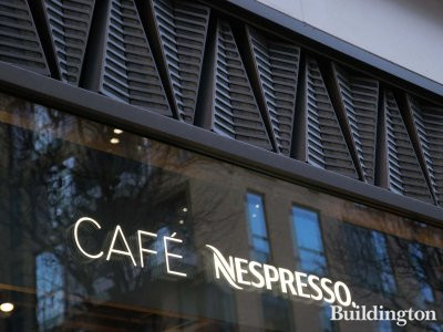 Café Nespresso at 32 Broadwick Street.