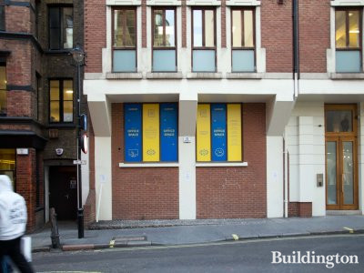 Office space to let advertised at 50 Marshall Street.