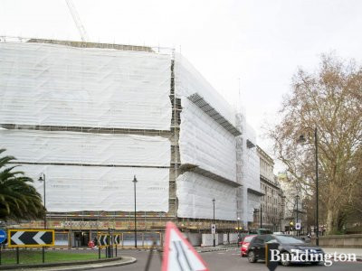 9 Millbank under construction in January 2019.