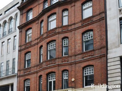 Chauser House at 13-14 Cork Street in Mayfair, London W1.