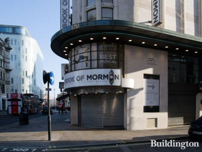 Book of Mormon at Prince of Wales Theatre in January 2019.