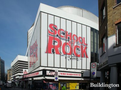 School of Rock playing at Gillian Lynne Theatre on Drury Lane  in February 2019.