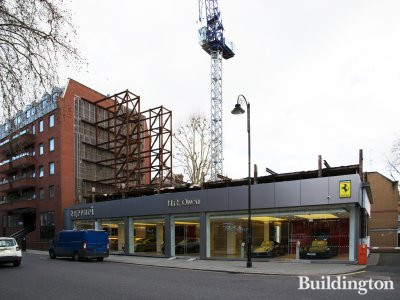 The Glen development on Old Brompton Road in February 2019.