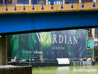 Wardian London on South Quay in Isle of Dogs, London E14.