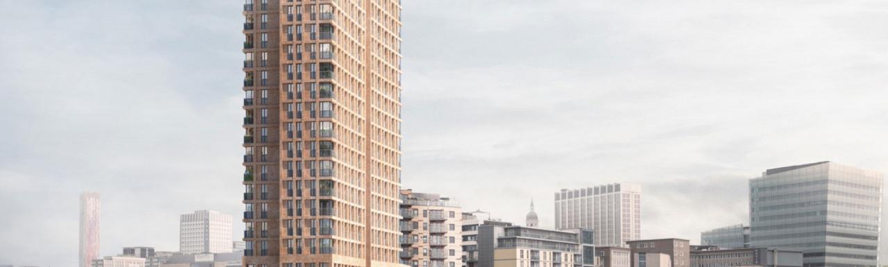Kindred House development designed by Pitman Tozer Architects.