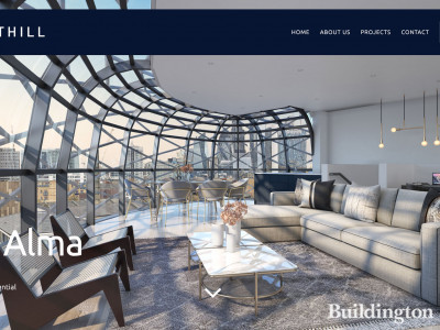 The Alma development on developer's website at northillproperties.co.uk