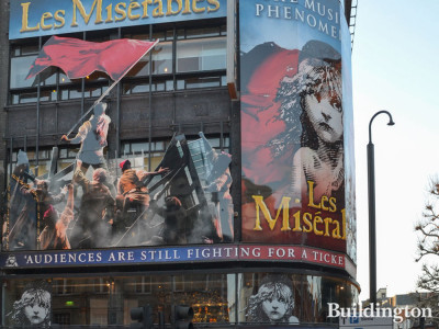 Les Miserables at the Queen's Theatre in March 2019.