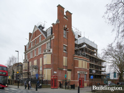 Grade II listed former Hackney Police Station at 2-4 Lower Clapton Road in London E5.