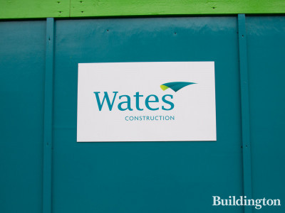 Wates on site at Olive Tree School development.