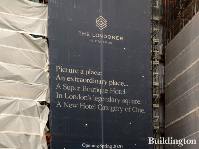 The Londoner Leicester Square - Picture a place; An extraordinary place...A Super Boutique Hotel; In London's legendary square; A New Hotel Category of One. Opening Spring 2020.