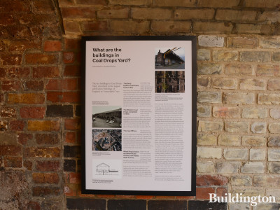 What are the buildings in Coal Drops Yard?