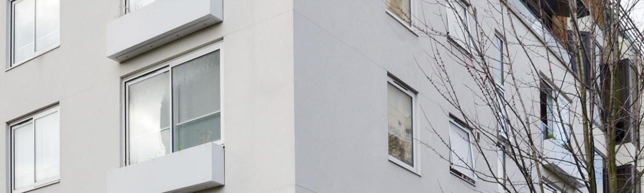 Westwood House on Milman's Street in 2019.
