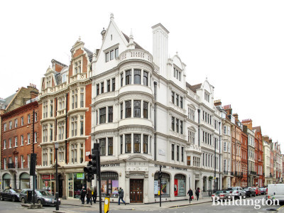 Grade II listed building at 86-87 Wimpole Street and 26 Wigmore Street
