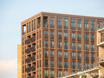 Fenman House at 5 Cubitt Walk in King's Cross, London N1C.