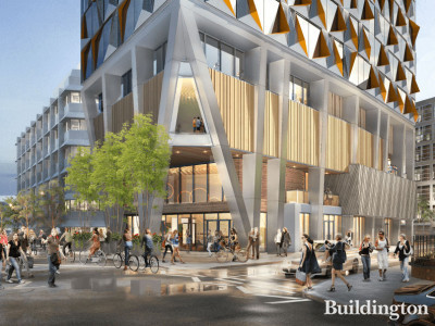 CGI of the new building at the Capital House site in London Bridge, designed by Kohn Pedersen Fox