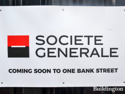 Societe Generale coming soon to One Bank Street