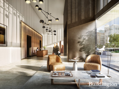 Reception at Landmark Pinnacle (CGI)