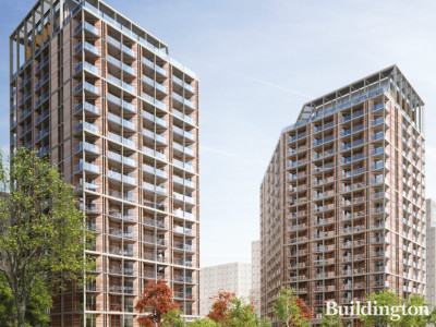 CGI of Nine Elms Parkside.