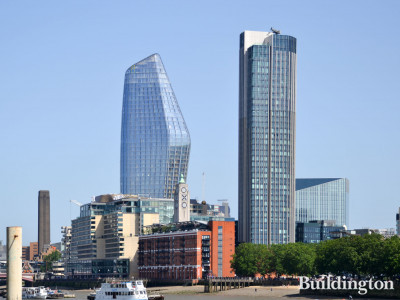 One Blackfriars and South Bank Tower