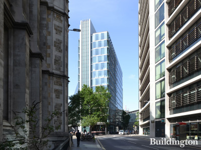 12 New Fetter Lane building designed by Flanagan Lawrence.