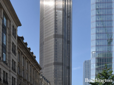 Tower 42 - view to the building from Cornhill.