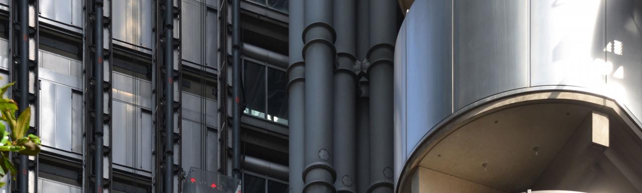 Lloyds Building - Leadenhall Street elevation