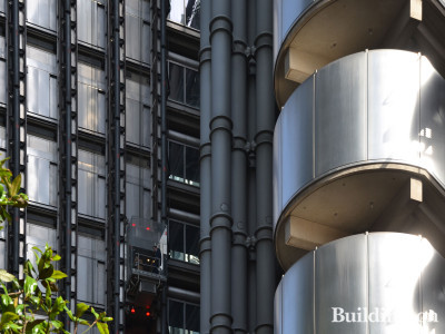 Lloyds Building - Leadenhall Street elevation