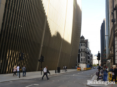 Seventy St Mary Axe on Bevis Marks