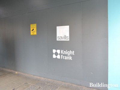 The apartments at One Bishopsgate Plaza are marketed by Knight Frank and Savills.