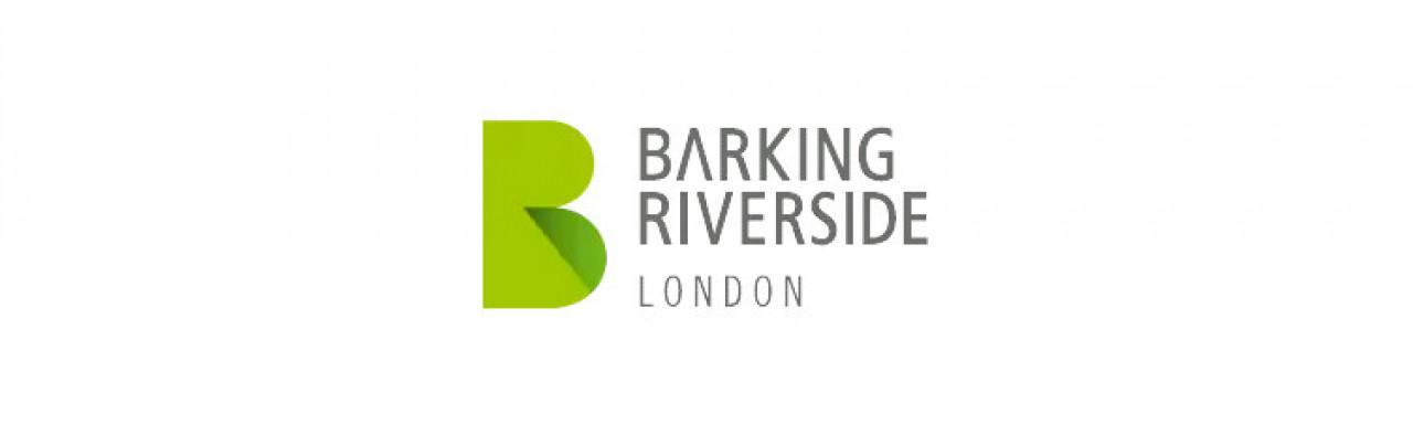 Barking Riverside development logo.