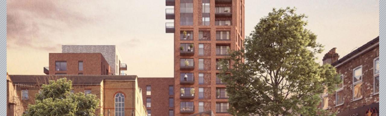 New Market Place development on Barratt London's website in Summer 2019.