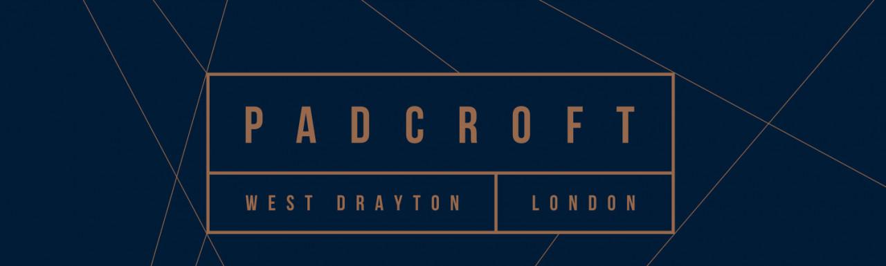 Padcroft by Redrow; development logo.