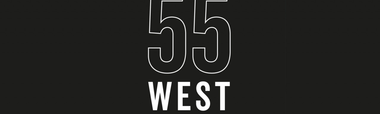 55 West development logo