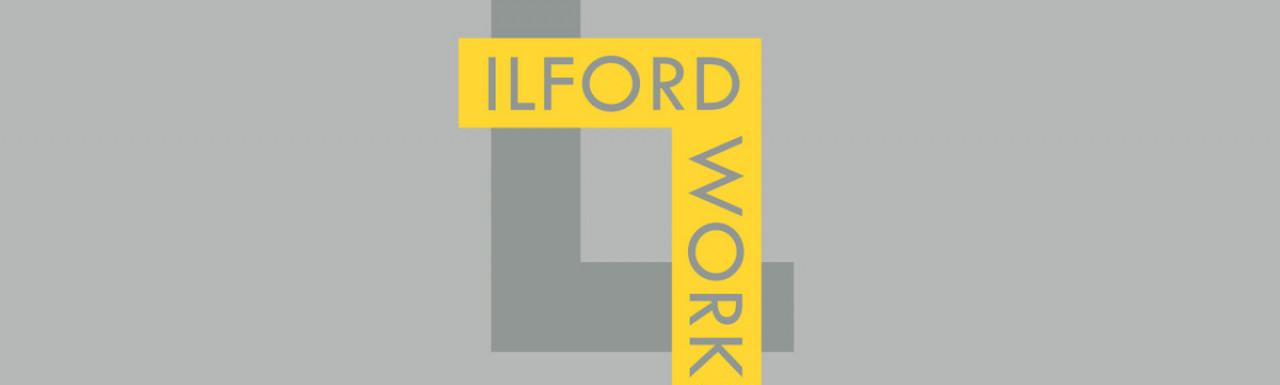 Ilford Works development logo.
