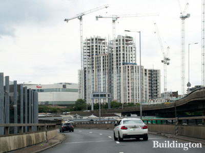 White City Living development under construction in August 2019.