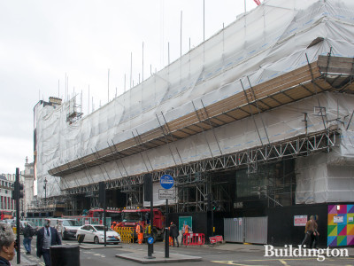One Sherwood Street under construction in September 2019.