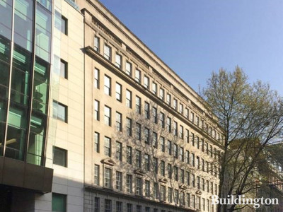 Flexible office space provider Uncommon's flagship office building Templar House at 81-87 High Holborn, London WC1.