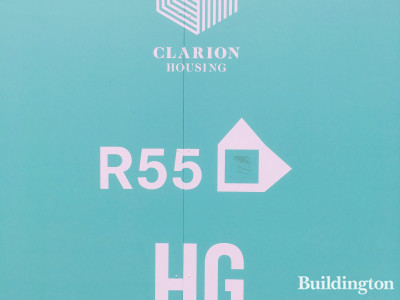 Clarion Housing, R55, HG Construction at Minavil House site.